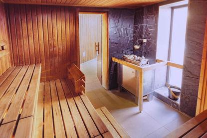 Bild von Eintrittskarte für das Bad mit Sauna, ermöglicht 5 Eintritte Studenten